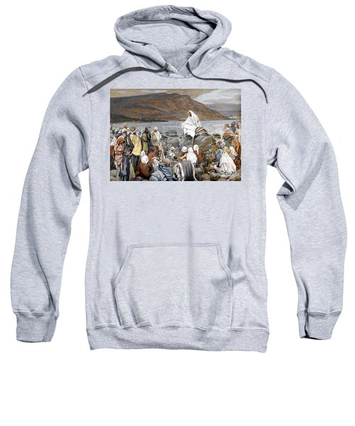 Jesus Preaching Sweatshirt