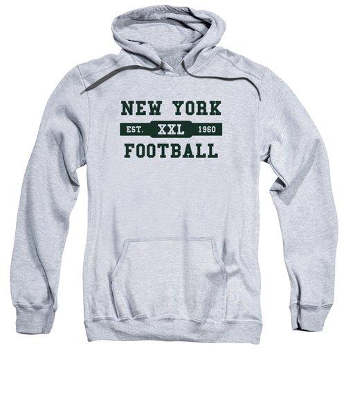 Jets Retro Shirt Sweatshirt by Joe Hamilton