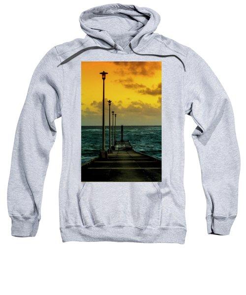 Jetty At Sunrise Sweatshirt