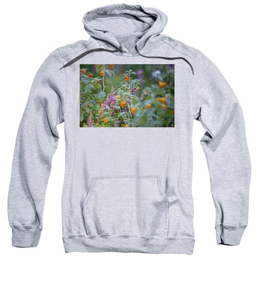Jewel Weed With Dew Diamonds Sweatshirt