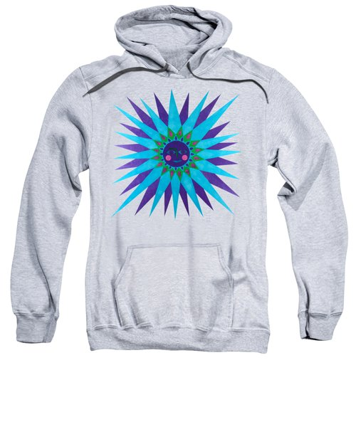 Jeweled Sun Sweatshirt