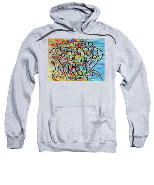 Jewish-funk Klezmer Music Sweatshirt