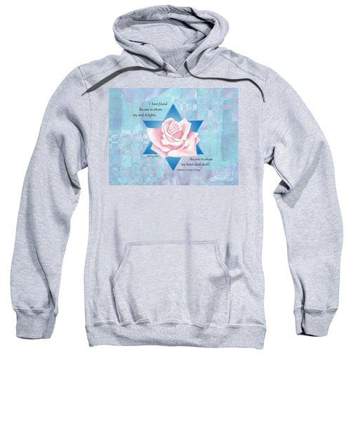 Jewish Wedding Blessing Sweatshirt