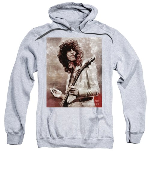Jimmy Page By Mary Bassett Sweatshirt