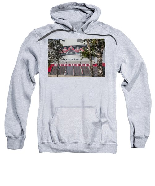 Joe Louis Arena And Trees Sweatshirt