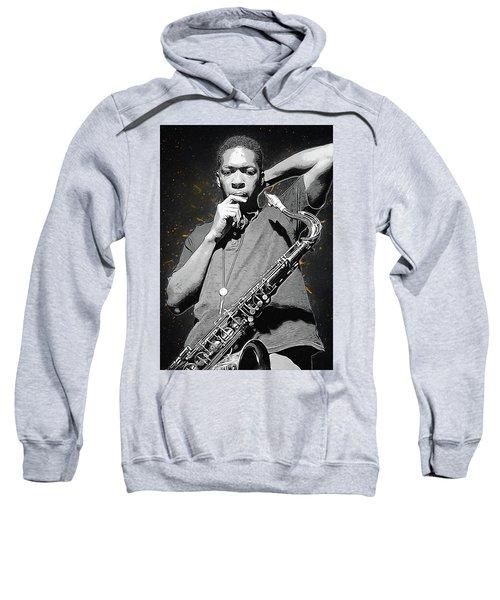 John Coltrane Sweatshirt by Semih Yurdabak