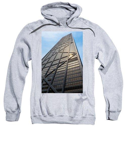 John Hancock Center Chicago Sweatshirt by Steve Gadomski