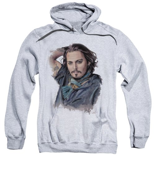 Johnny Depp Sweatshirt by Melanie D