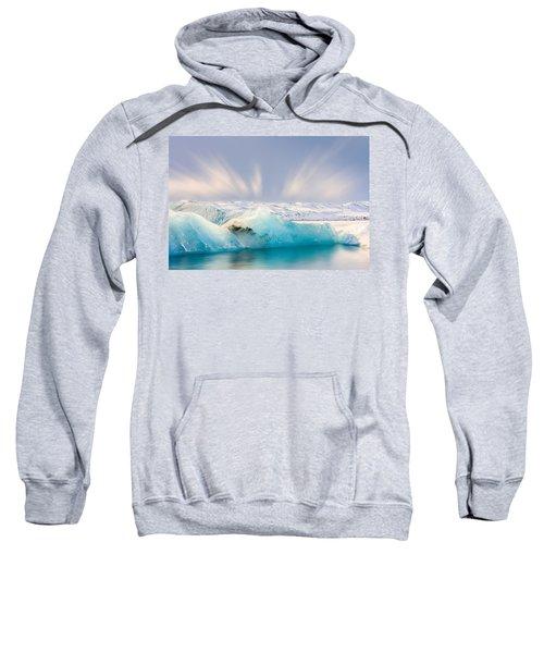 Jokulsarlon Glacier Lagoon Sweatshirt