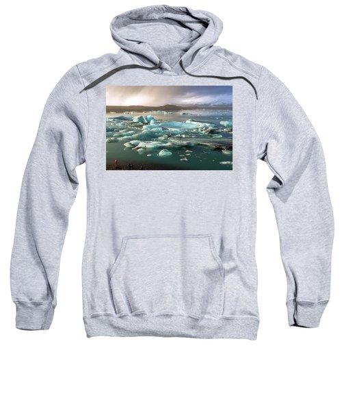 Jokulsarlon The Magnificent Glacier Lagoon, Iceland Sweatshirt