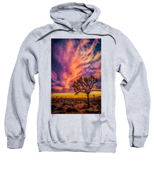 Joshua Tree In The Glowing Swirls Sweatshirt