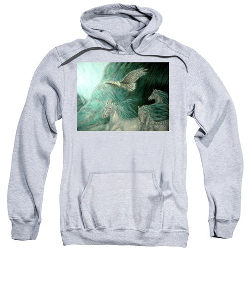Journeyscape-out Of Darkness Sweatshirt