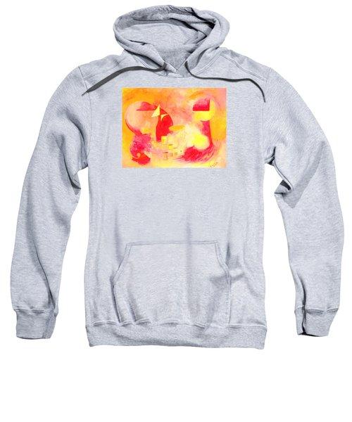 Joyful Abstract Sweatshirt