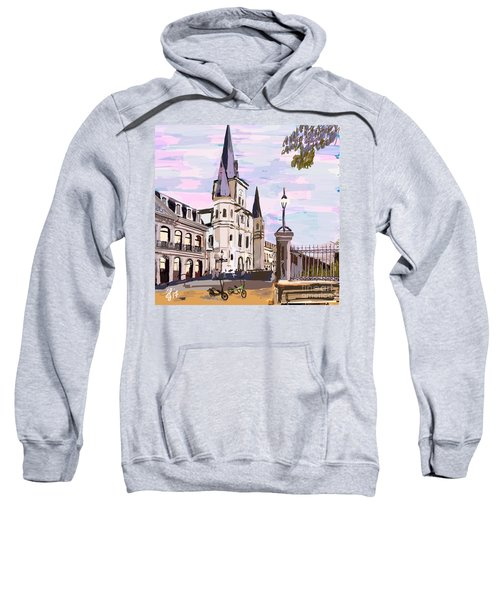June, Where In The World Is My Elliptigo? Sweatshirt