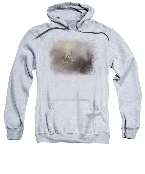 Just A Whisper Of Feathers Sweatshirt by Jai Johnson