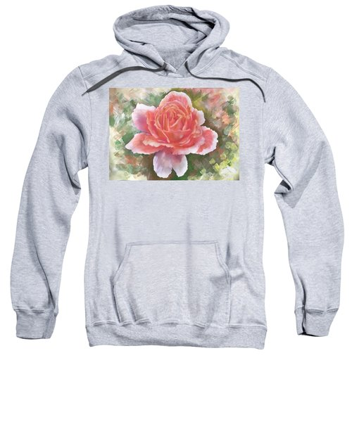 Just Joey Rose From The Acrylic Painting Sweatshirt