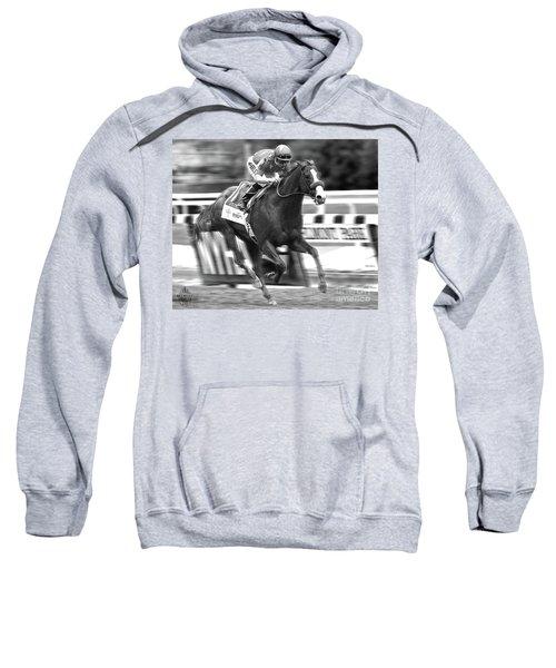 Justify, Belmont Stakes, Triple Crown, 2018 Sweatshirt