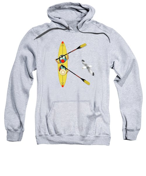 K Is For Kayak And Kittiwake Sweatshirt