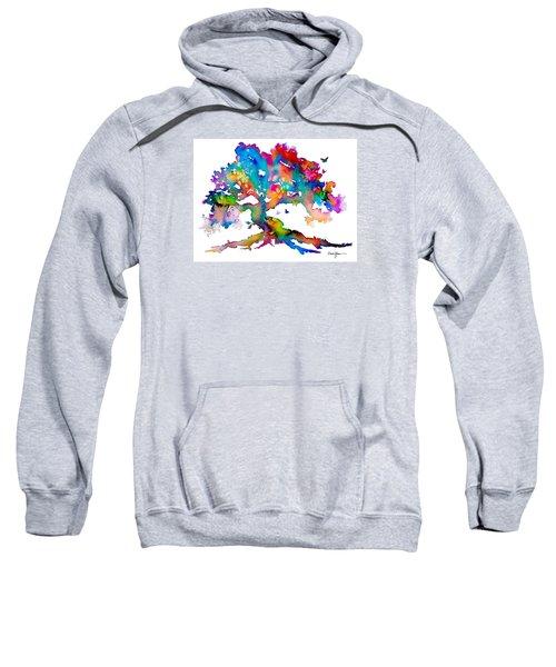 Da186 Kelly's Tree    Daniel Adams Sweatshirt