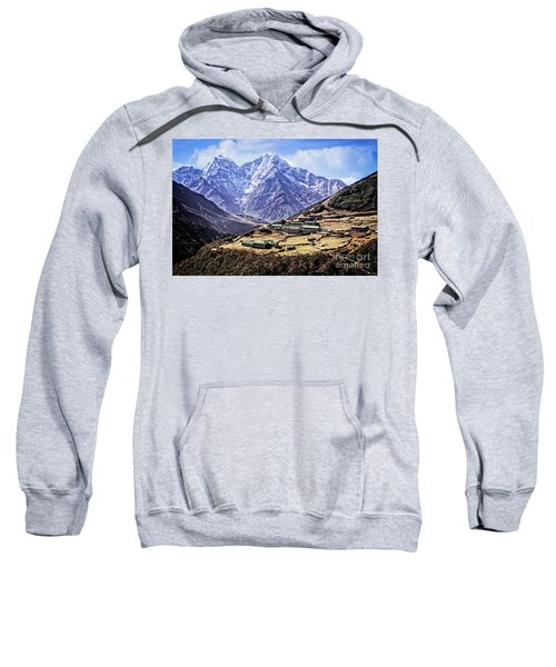 Kangtega And Thamserku Sweatshirt