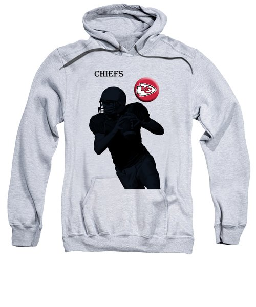 Kansas City Chiefs Football Sweatshirt by David Dehner