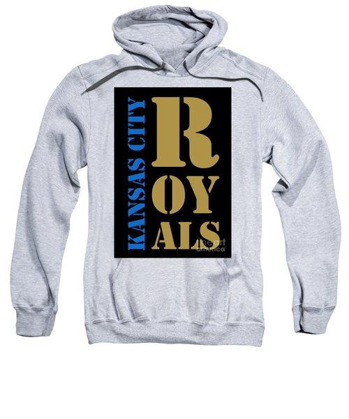 Kansas City Royals Typography Sweatshirt