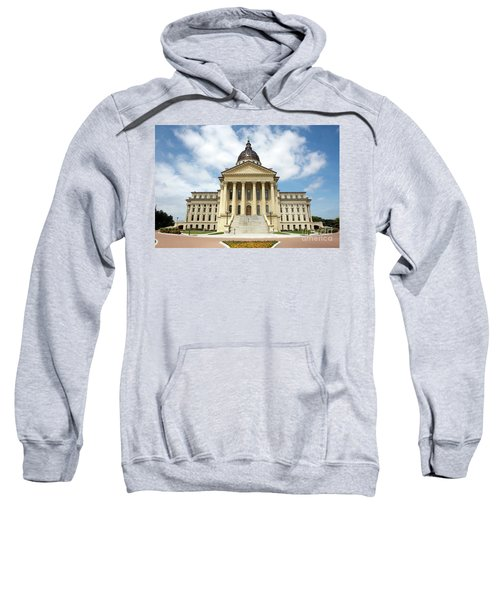 Kansas State Capitol Building Sweatshirt
