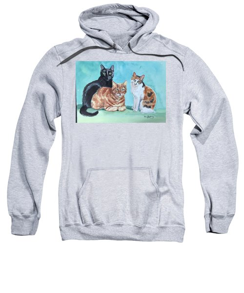 Kates's Cats Sweatshirt