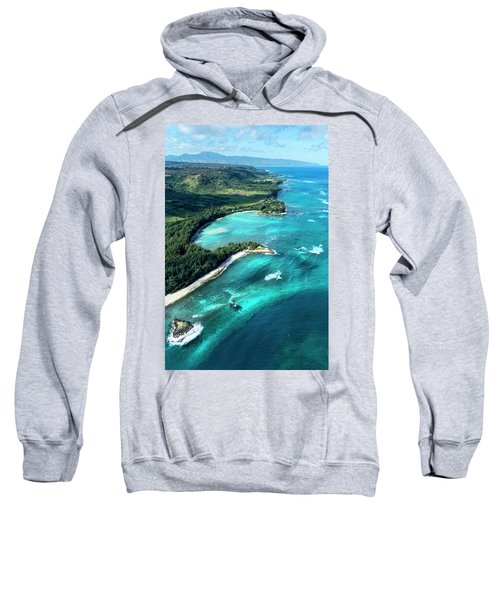 Kawela Bay, Looking West Sweatshirt