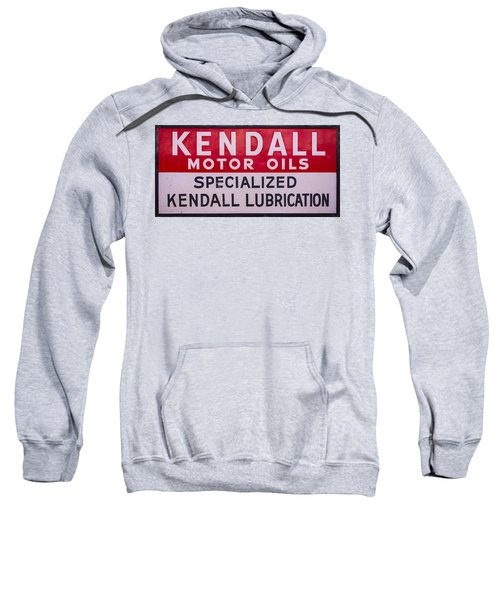 Kendall Motor Oils Sign Sweatshirt