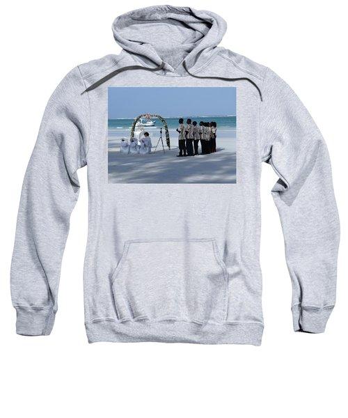 Kenya Wedding On Beach Singers Sweatshirt