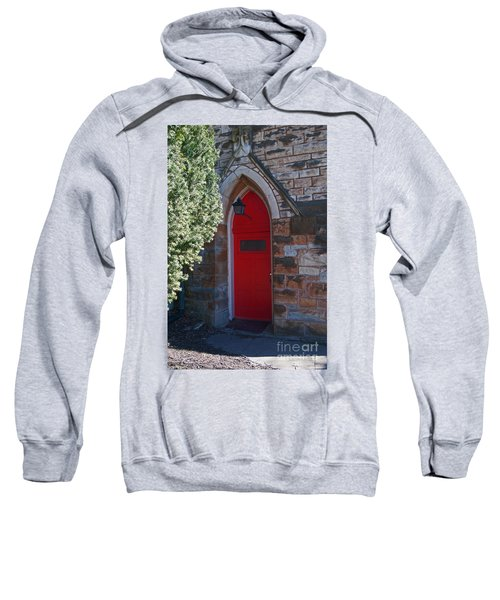 Red Church Door Sweatshirt