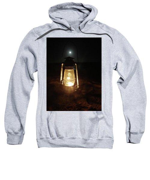 Kerosine Lantern In The Moonlight Sweatshirt by Exploramum Exploramum
