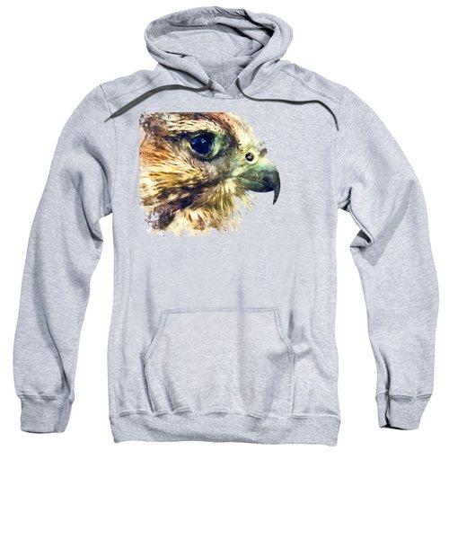 Kestrel Watercolor Painting Sweatshirt