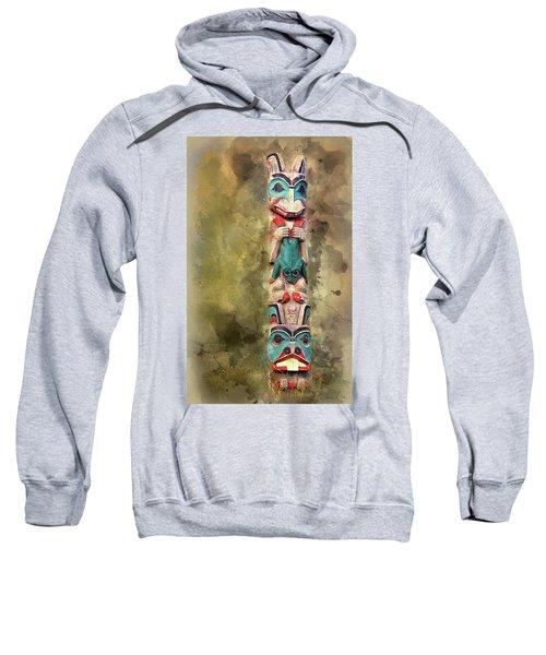 Ketchikan Alaska Totem Pole Sweatshirt