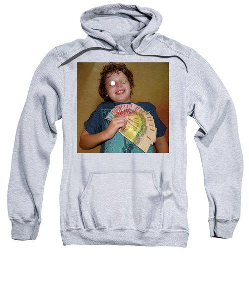 Kid With Money Sweatshirt by Exploramum Exploramum