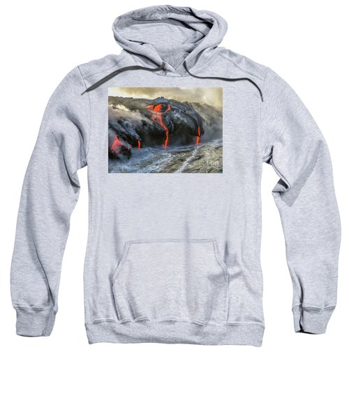 Kilauea Volcano Hawaii Sweatshirt