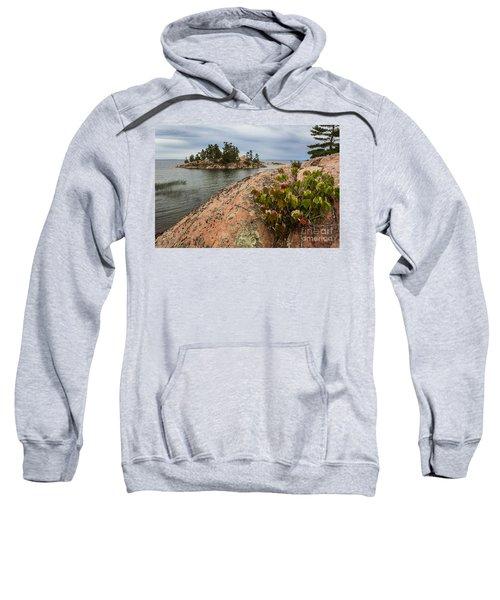 Killarney-island-pink-4530 Sweatshirt