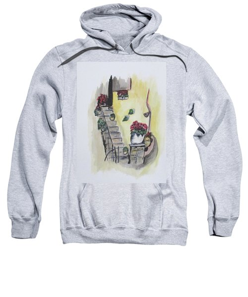 Kimberly's Castellabate Flowers Sweatshirt