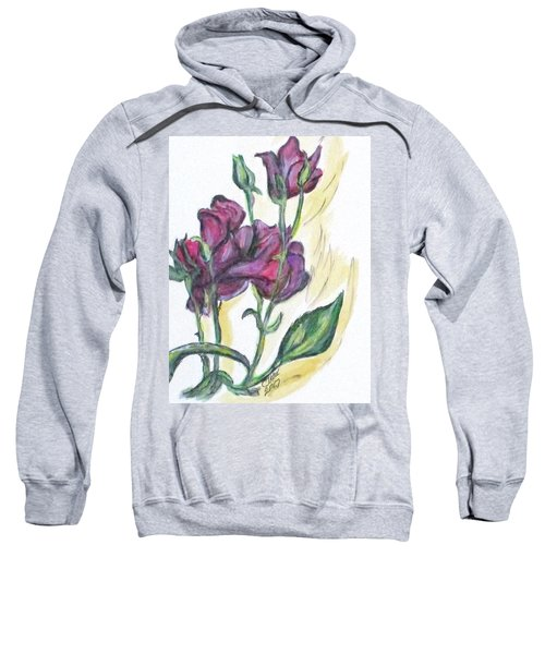 Kimberly's Spring Flower Sweatshirt