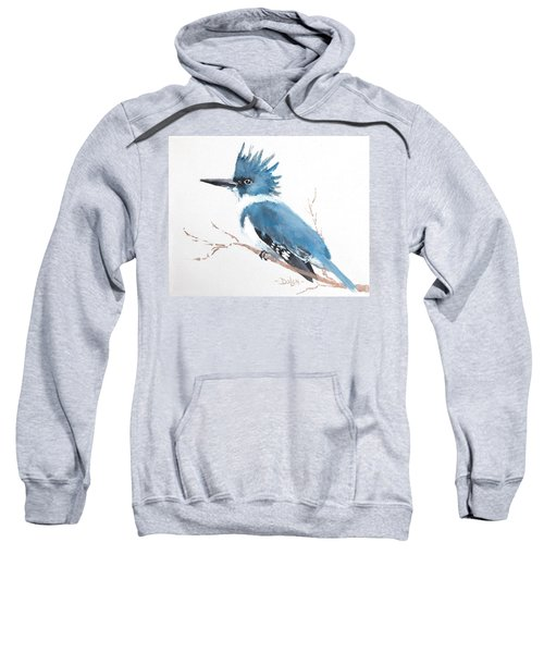 Kingfisher On A Branch Sweatshirt