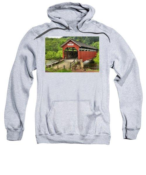 Kings Covered Bridge Somerset Pa Sweatshirt