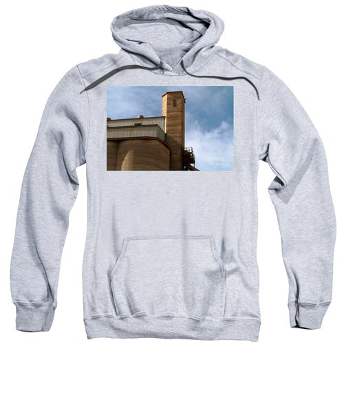 Sweatshirt featuring the photograph Kingscote Castle by Stephen Mitchell
