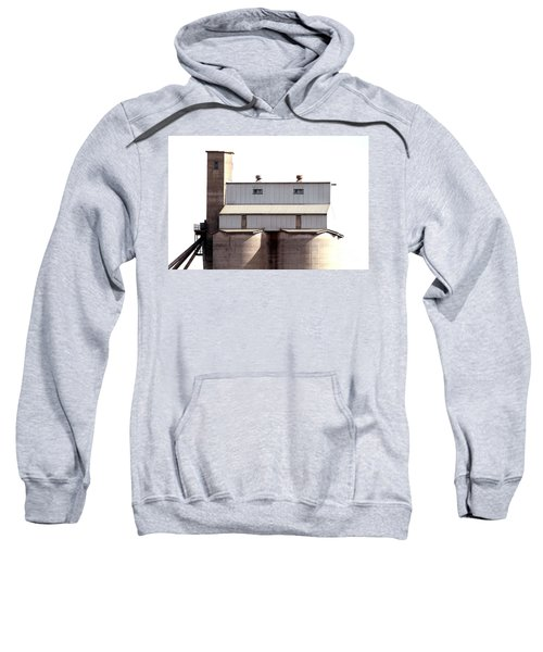 Sweatshirt featuring the photograph Kingscote Skyrise by Stephen Mitchell