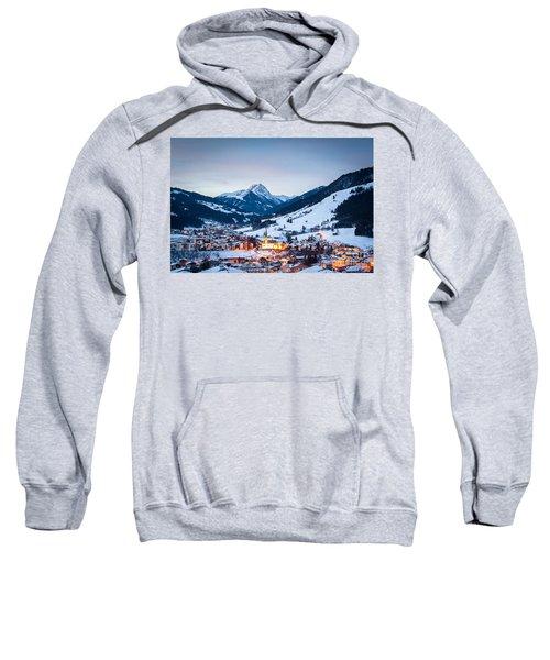 Kirchberg Austria In The Evening Sweatshirt