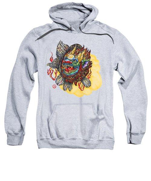 Kirin Head Ranchu Sweatshirt by Shih Chang Yang