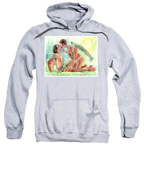 Kiss Of The Angel Sweatshirt