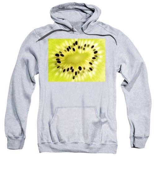 Kiwi Fruit Sweatshirt by Paul Ge