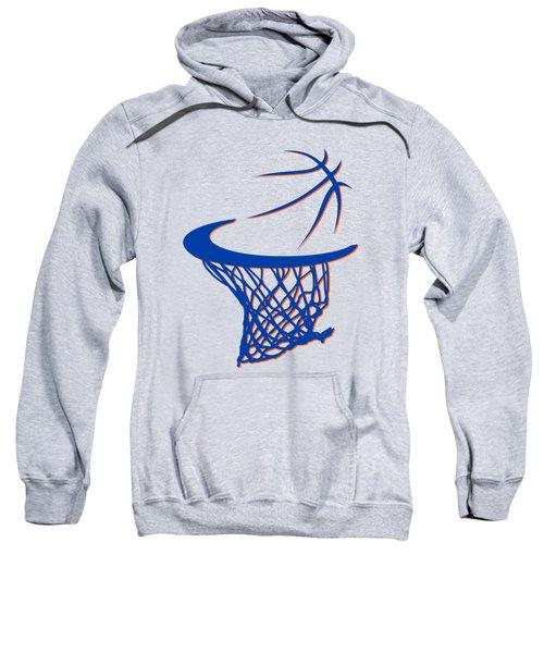 Knicks Basketball Hoop Sweatshirt