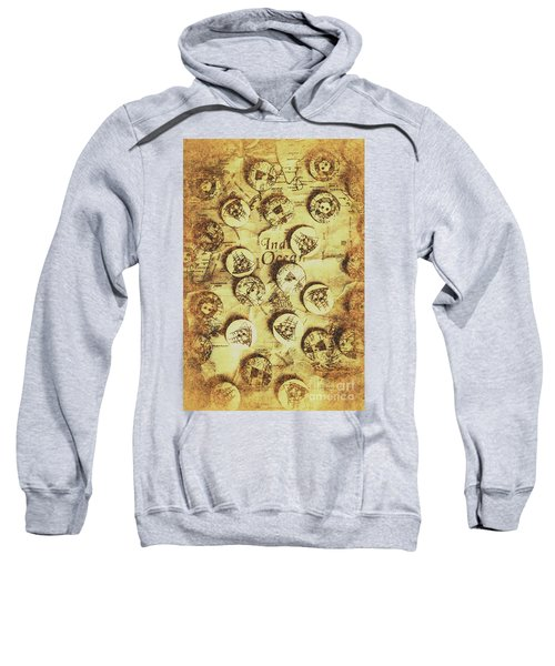 Knots And Buttons Sweatshirt